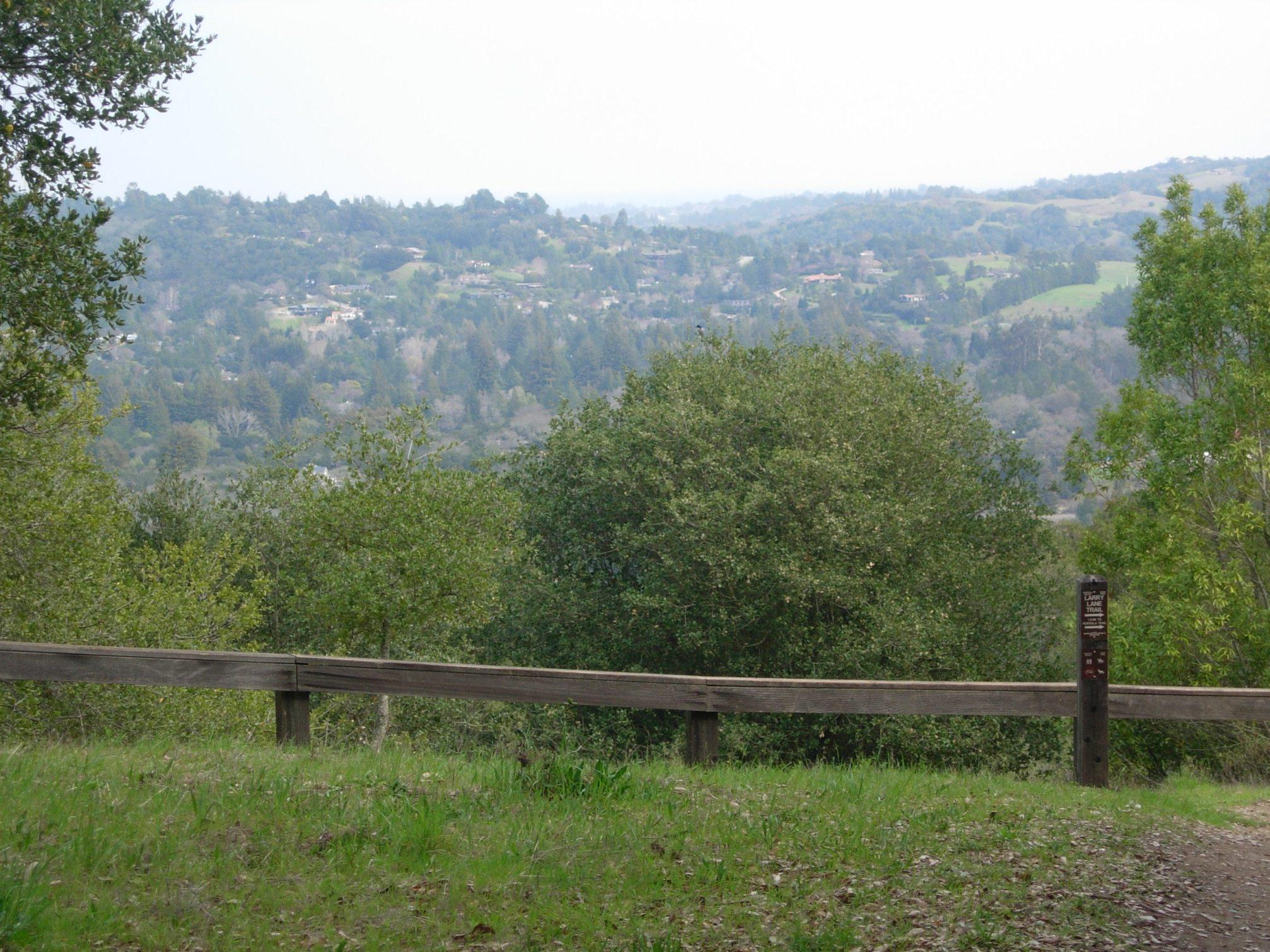 Larry Lane Trail, PortolaValley